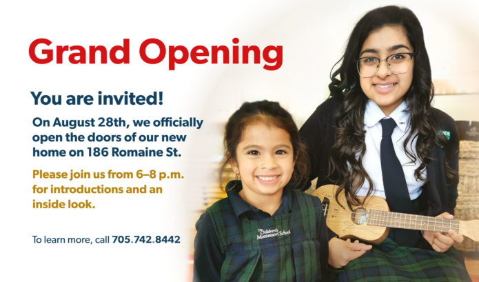 Grand Opening August 28